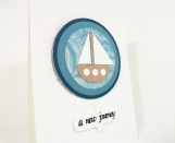 A New Journey - Sailboat Card with 10% to Dog Charity