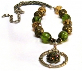 Necklace with a Vintage Flare