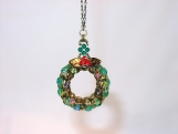 """Christmas Wreath"" Ornament / Room Decor - 2 colours"