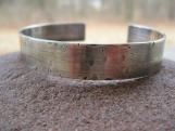 Customized Cuff . FOR YOUR GUY . sterling silver .add your words