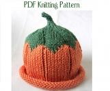 Boston Beanies Knit Baby Fruit and Berry Pattern, 3 pattern set