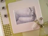 Little Feet - Gender Neutral Baby Card