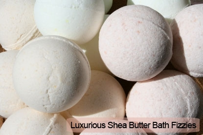Luxurious Shea Butter Bath Fizzies