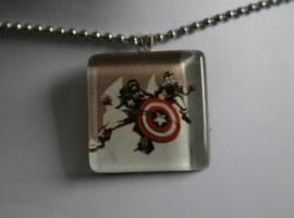 Captain America pendant