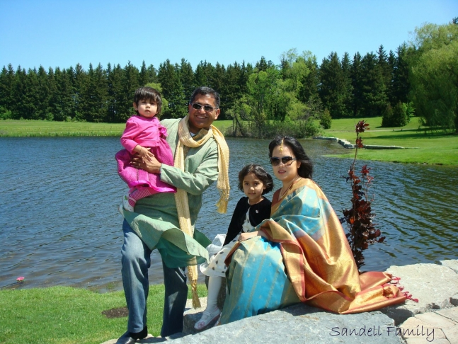 Reshma Sandell Family Photo, AhKriti.