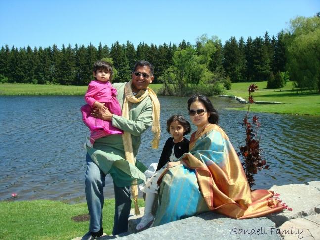 Reshma Sandell Family Photo, AhKriti.