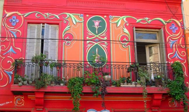 Ornate House, Abasto, Buenos Aires, Argentina.